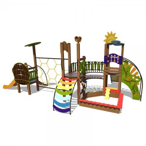 Vaikų žaidimų aikštelė Upelis 3