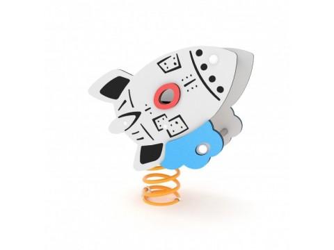 Spyruoklinis žaislas Raketa