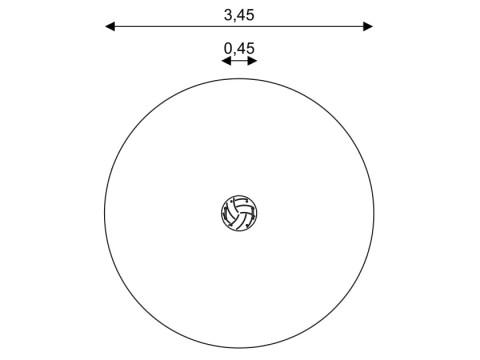 Spyruoklinis žaislas Krepšinio kamuolys