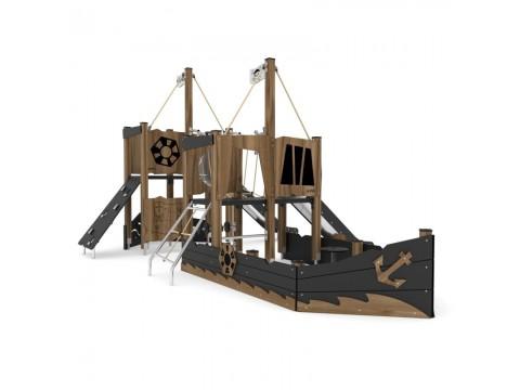 Lauko vaikų žaidimų kompleksas Piratų laivas
