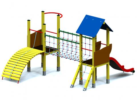 Vaikų žaidimų aikštelė Rudamina