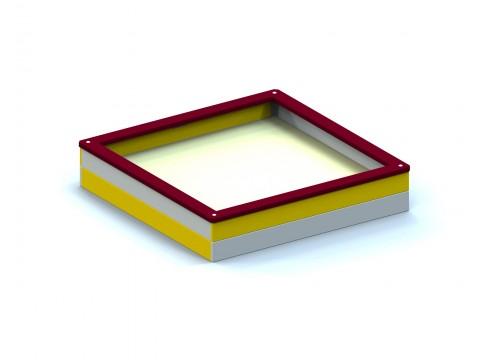 Smėlio dėžė 1,5x1,5 m.