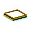 Smėlio dėžė 2,0x2,0 m.