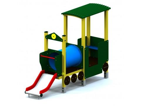 Vaikų žaidimų aikštelė Lokomotyvas