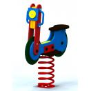Spyruoklinis žaislas vaikams Motociklas