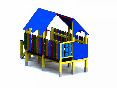 Vaikų žaidimų aikštelė Trobelė
