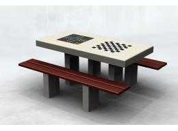 Betoninis žaidimų stalas