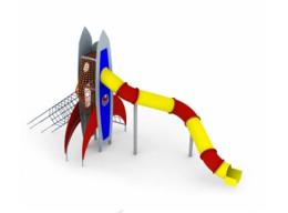 Lauko vaikų žaidimų kompleksas Raketa