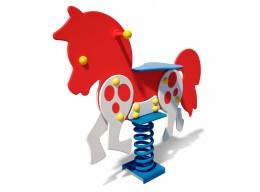 Spyruoklinis žaislas vaikams Ponis