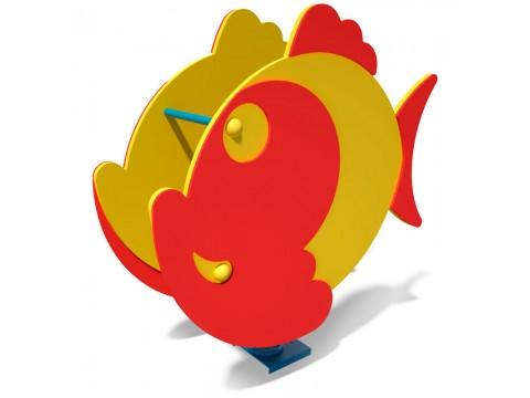 Spyruoklinis žaislas vaikams Žuvytė