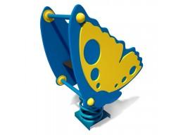 Spyruoklinis žaislas vaikams Drugelis