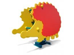 Spyruoklinis žaislas vaikams Ežiukas