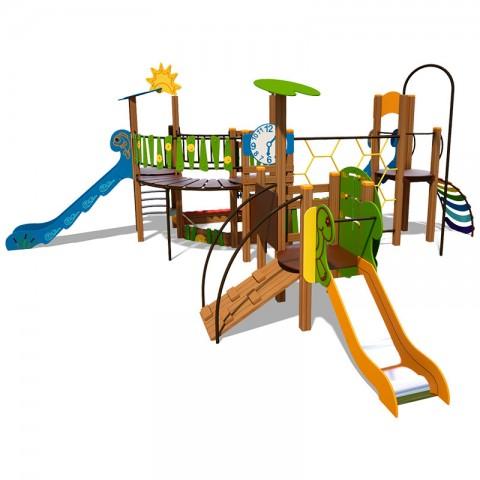 Vaikų žaidimų aikštelė Upelis 4